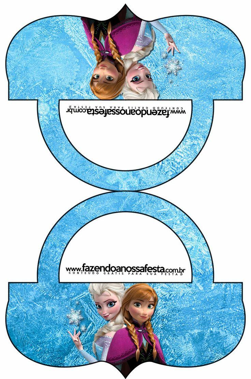 Frozen: Etiquetas para Candy Bar, para Imprimir Gratis.                                                                                                                                                     Más