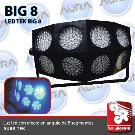 LUZ LED / TEK-BIG 8