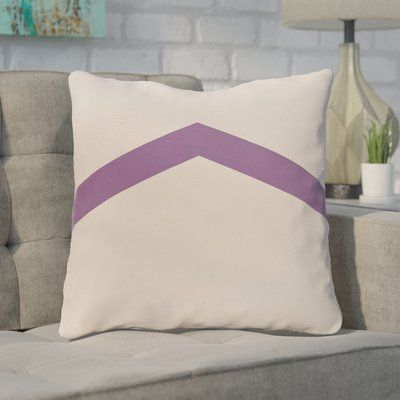 "Mercury Row Down Throw Pillow Size: 26"" H x 26"" W, Color: Heather"
