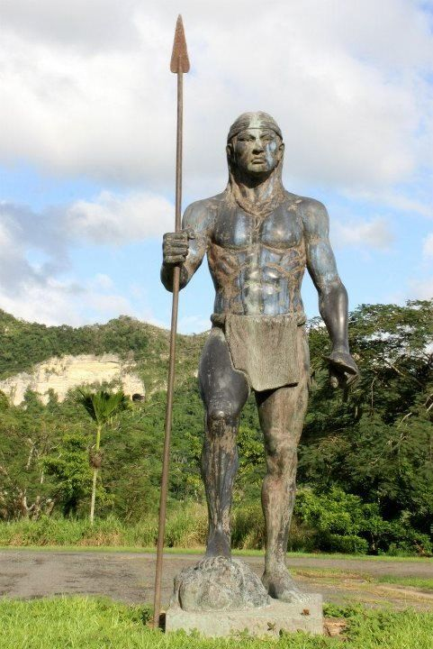 Puerto Rico Usa Monument To The Tainos Go Puerto