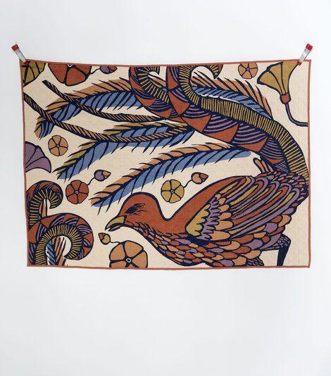Lyrebird Quilt - Nancybird