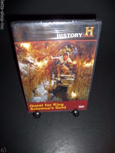Digging for the Truth - Quest for King Solomon's Gold (DVD, 2008) New Sealed