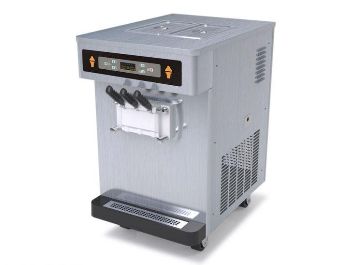 Soft Serve Table Top Yogurt Ice Cream Machine, Commercial Ice Cream ...