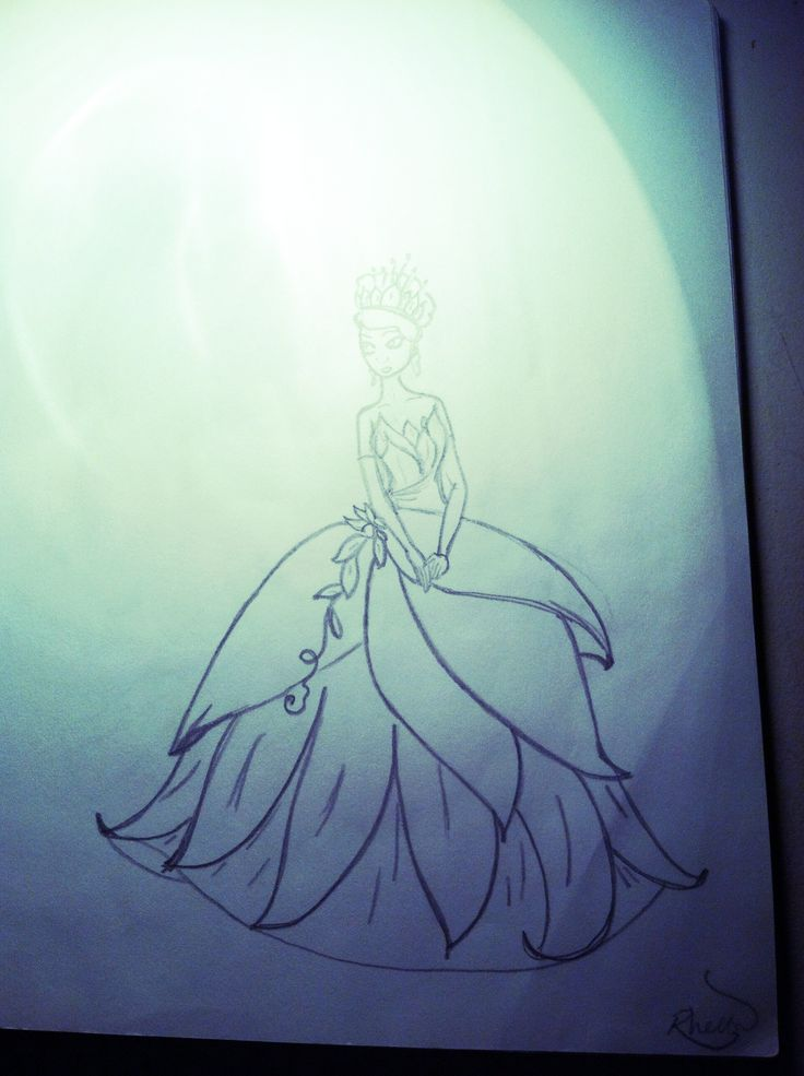 Tiana 39 s dress from princess and the frog Disney princess
