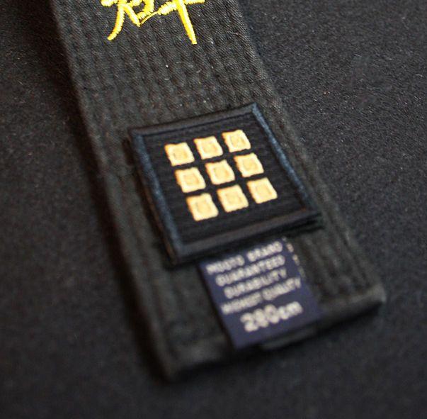 MOOTO Belt Dan PATCH 1ea TKD UNIFORM Korea TAEKWONDO KENDO TAE KWON DO DOBOK #mooto