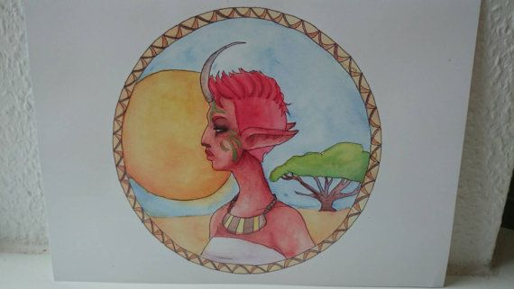 Check out this item in my Etsy shop https://www.etsy.com/listing/222821275/fantasy-tribal-woman-a4-digital-print