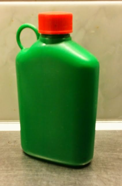 Plastic Bottle...used in pre-school lunch and school trips...still in production!