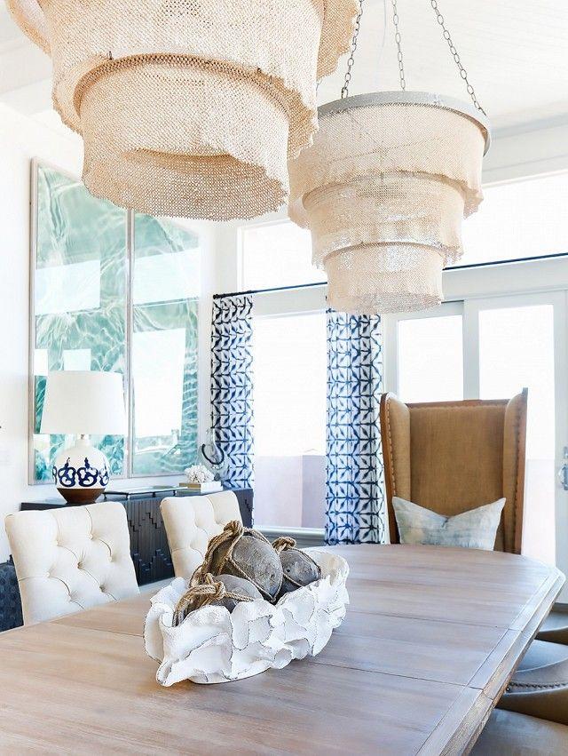 Coastal Style: Sophisticated Boho Beachy Style · Coastal Dining RoomsDining  ...