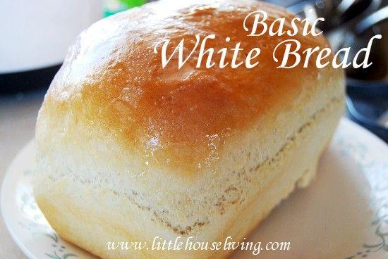 Post image for Basic White Bread