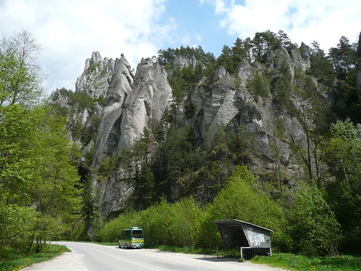 Sulovske Skaly, Slovakia