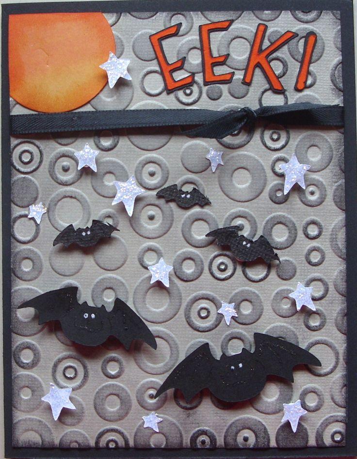EEK! Halloween Card - Scrapbook.com - #scrapbooking