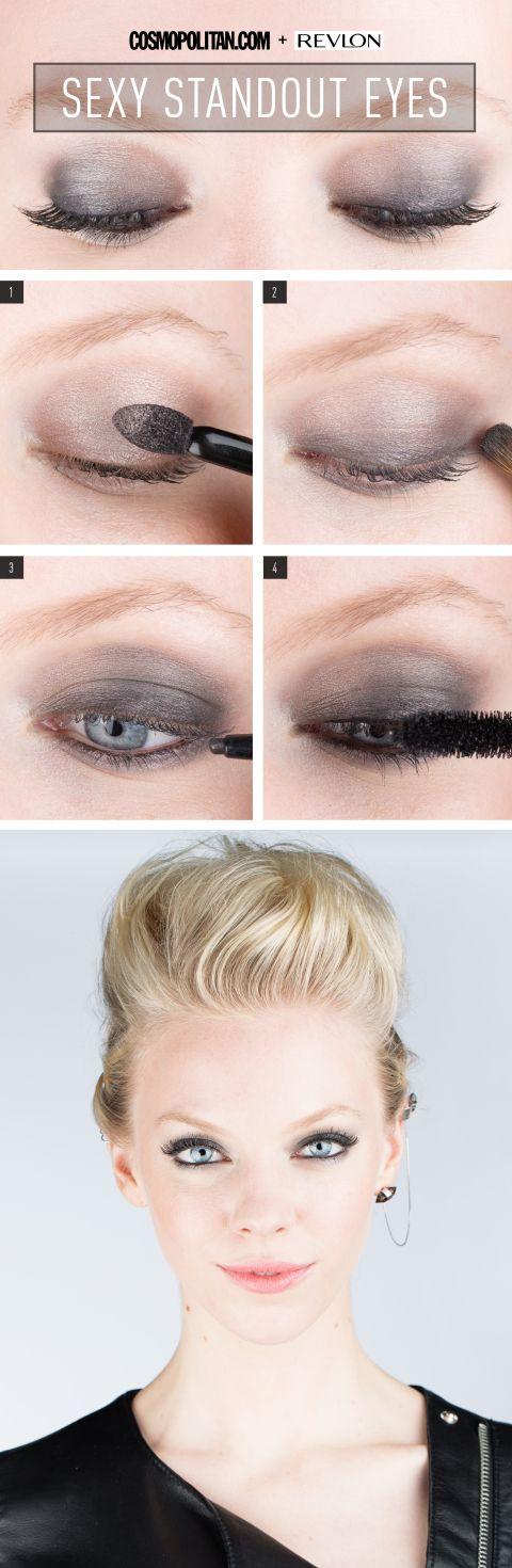 Bold Rocker Eye Makeup How To