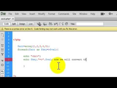 Php Tutorial implode and explode function example for Php beginners