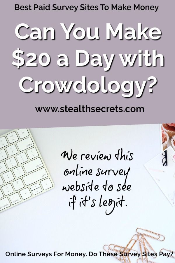 Is Crowdology one of the Best Paid Survey Sites To Make Money? We Review This Survey For Money Site – Clever Ways To Make Money