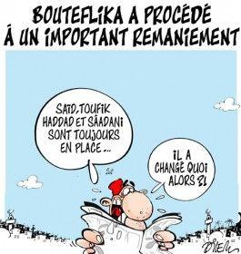 Caricature dilem du 19 mai 2015 : Toute l'actualité sur liberte-algerie.com