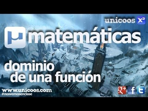 Dominio de una funcion SECUNDARIA (4ºESO) matematicas radicales raices logaritmica - YouTube