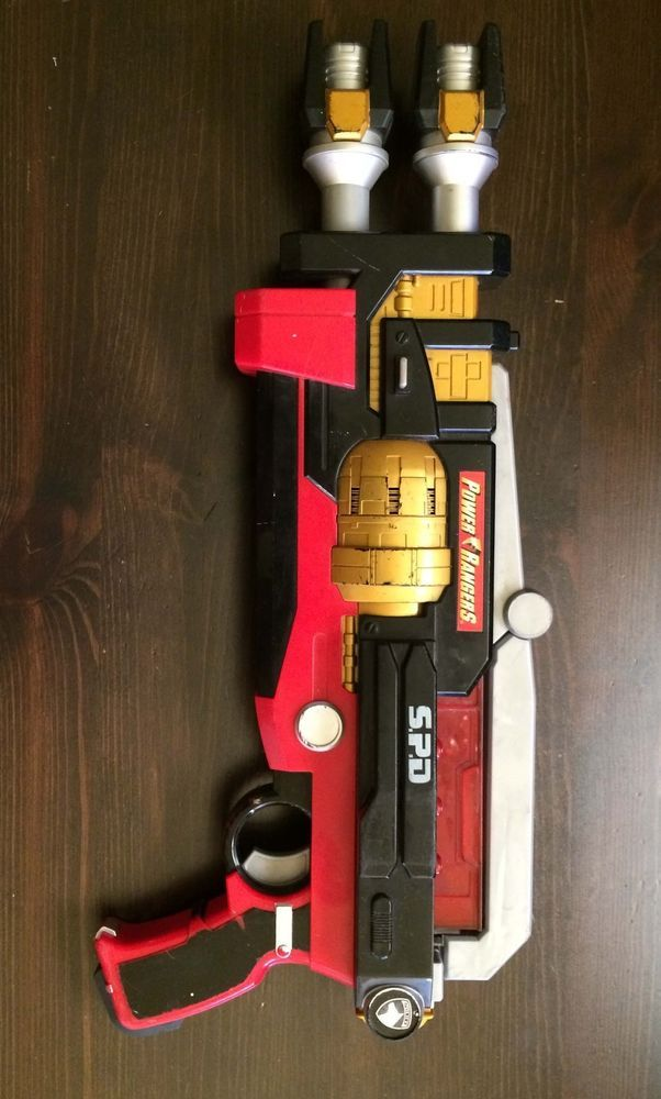 Mighty Morphin Power Rangers SPD Delta Enforcer Blaster gun role play cosplay