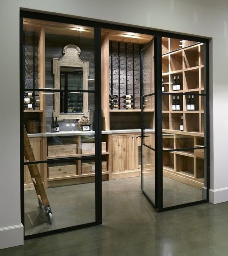 Enclosed wine storage