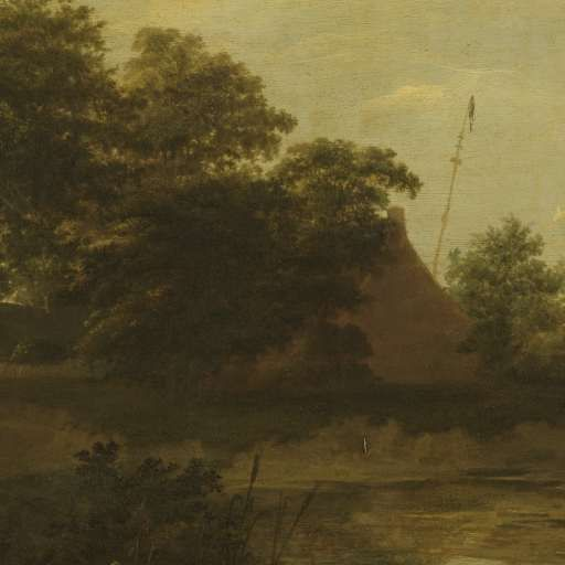 Landscape with a Farm, Jan Vermeer van Haarlem (I), 1648 - Search - Rijksmuseum