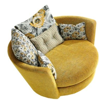 The Pepito Swivel Armchair - Living Room Armchairs