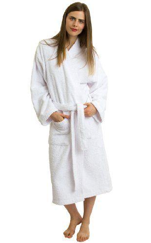 TowelSelections Terry Kimono Bathrobe - Kimono Terry Cloth Robe for Women and Men, 100% Turkish Cotton, Made in Turkey $39.95