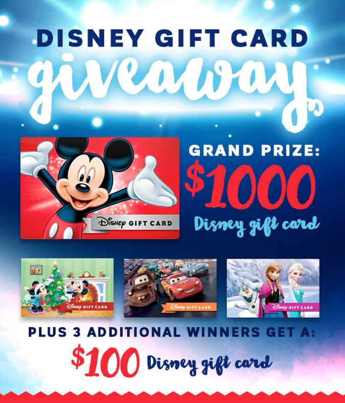 Enter to win a $1000 Disney gift card from Mountain America Credit Union! https://wn.nr/pJBvMB