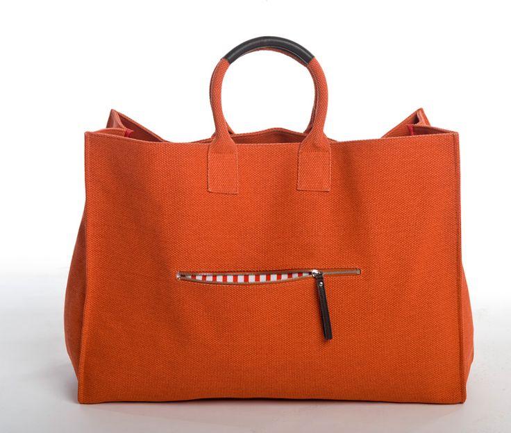 M Sydney Tote Bag Orange