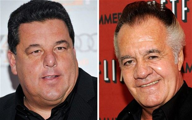 Steve R Schirripa (Bobby 'Bacala' Baccalieri) and Tony Sirico (Paulie 'Walnuts' Gualtieri, right) from The Sopranos are to star in a children;'s movie, called Nicky Deuce, based on a book co-written by Schirripa