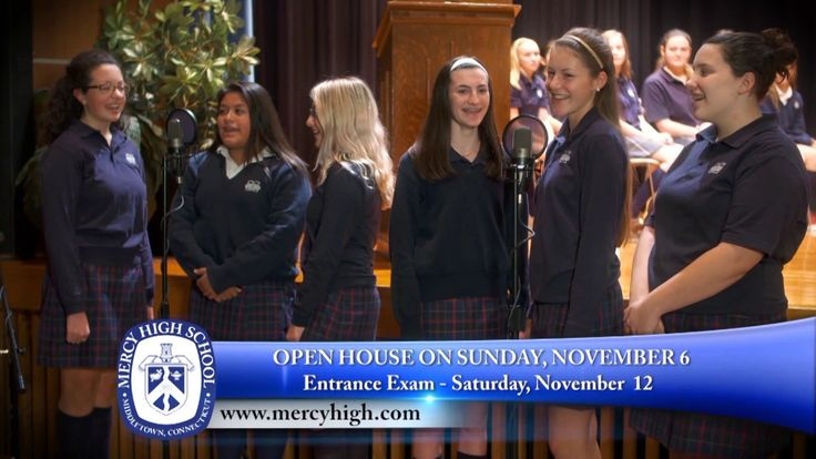 Mercy High School: Open House 15 - Mercy High is many incredible things, but most of all, mercy is you. Become a woman of mercy, come to our open house on Sunday, November 6th.  http://www.mercyhigh.com