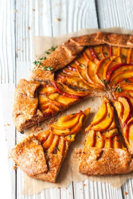 Peach Galette | Recipe | What's Cookin? | Peach galette