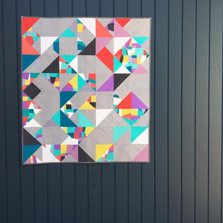 263 best Modern Quilts images on Pinterest   Patchwork quilting ... : best modern quilt blogs - Adamdwight.com