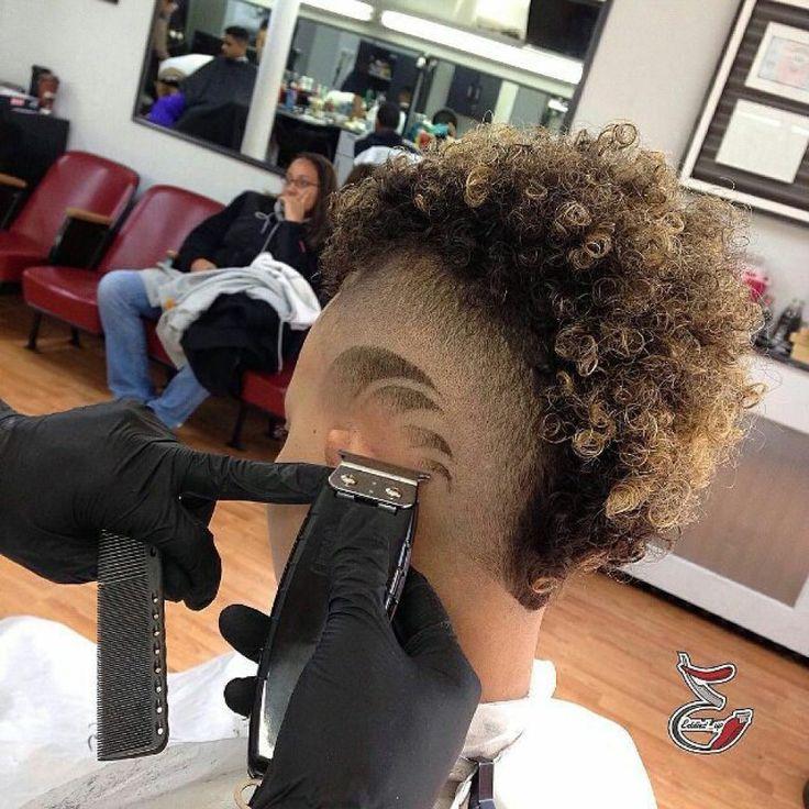 Faux Hawk With Hair Design