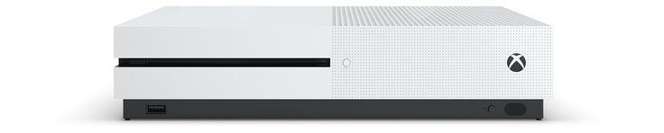 Xbox One S disponible ici.  Plus belle. Plus fine. Plus performante.  40 % plus petite.  2 To de stockage.  Bloc d'alimentation interne.  Technologie HDR.  Blu-ray™ et streaming Ultra HD 4k.  Récepteur infrarouge.  Manette sans fil Xbox.  Socle de console vertical inclus avec la Xbox One S 2 To.