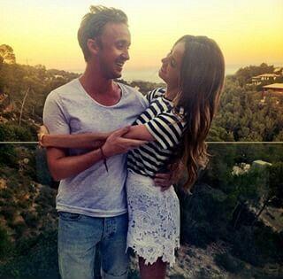 Tom Felton and Jade Oliva Gordon ♥ goals