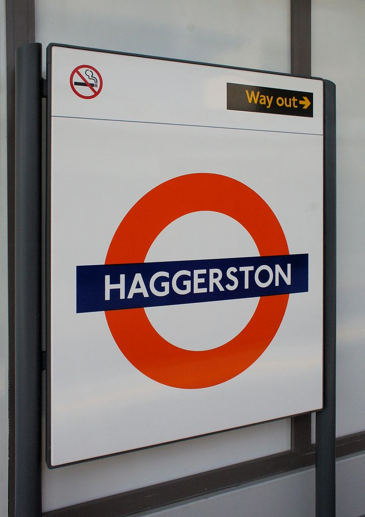 Image result for tube sign haggerston