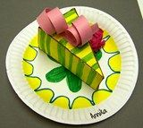Pop Art Cakes 5th grade- maybe teach them to make 3D forms then make an item of food they choose?