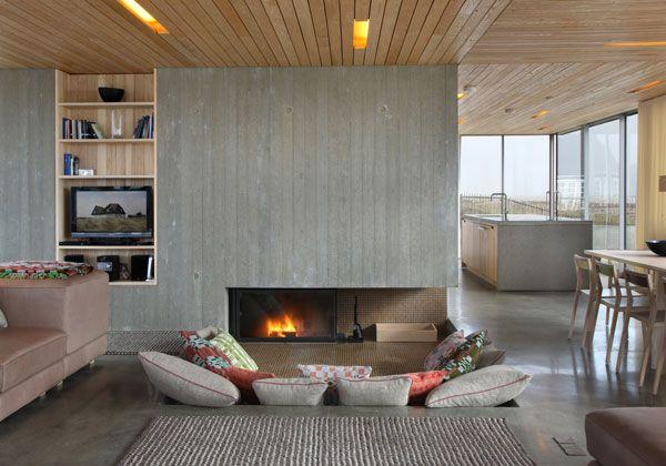 La casa di vacanze perfetta secondo lo studio Jarmund/Vigsnæs Architects si trova in riva al mare