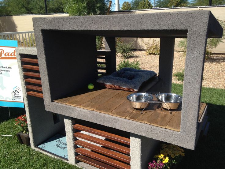 25 best dog house images on pinterest house dog pets for Modern dog house designs