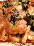 Groenteschotel met boerenkool, broccoli, wortel en pompoen