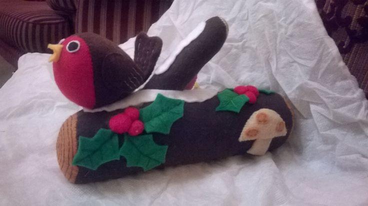 Emily's Christmas log