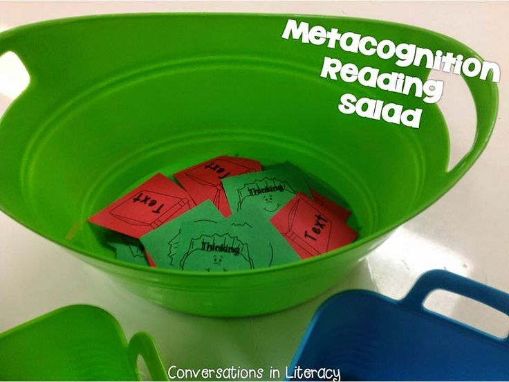 Metacognition & Reading Salad:  Thinking About Our Reading!  Freebie!
