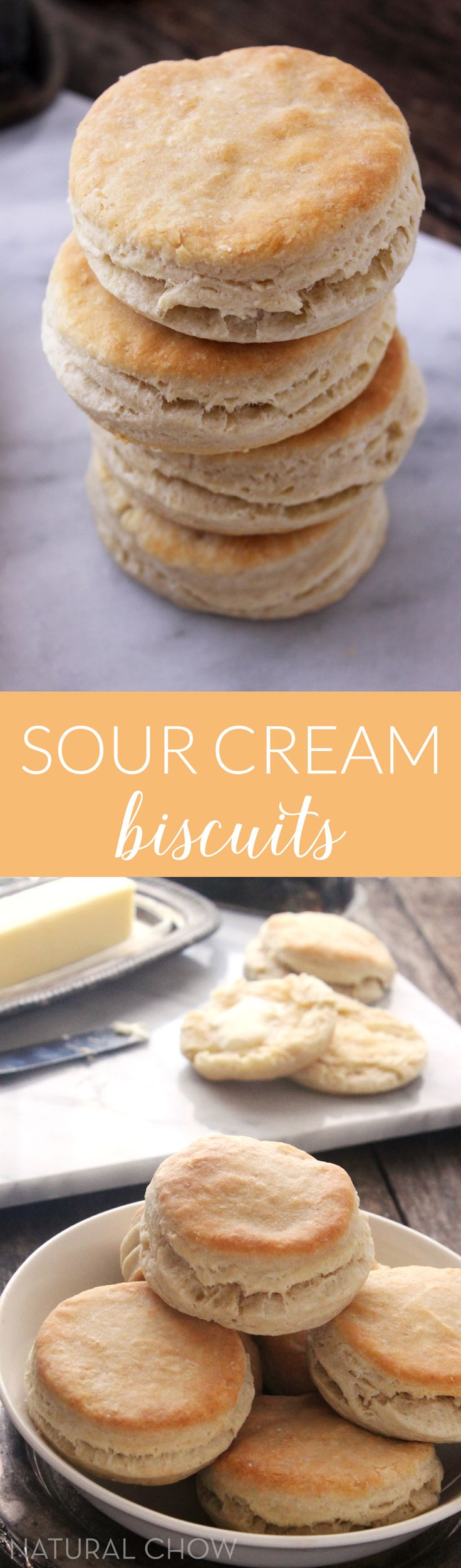 Learn how to makeSour Cream Biscuitsfrom scratch with this simple step-by-step tutorial!