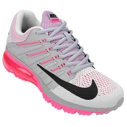 detailing 65ba2 94e1d ... Zapatillas Nike Air Max Excellerate 4 - Blanco+Rosa ...