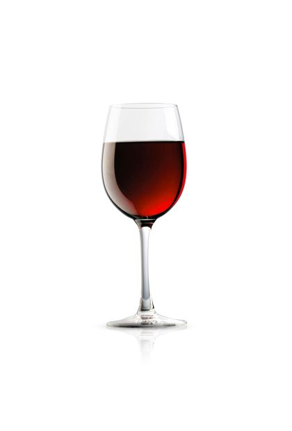 Instead of too many glasses of wine … try having only one glass of wine -- and make it red.