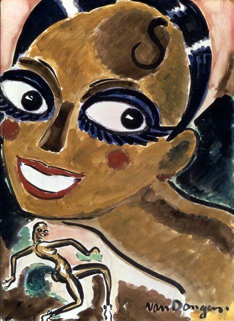 Kees van Dongen - Josephine Baker (1925)