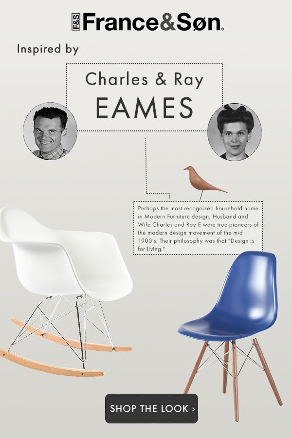 Perhaps The Most Recognized Household Name In Modern Furniture Design,  Charles And Ray Eu0027s Designs
