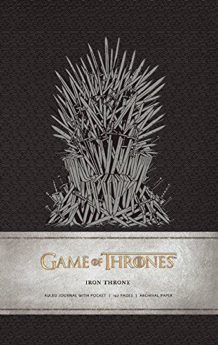 Game of Thrones Iron Throne Hardcover Ruled Journal