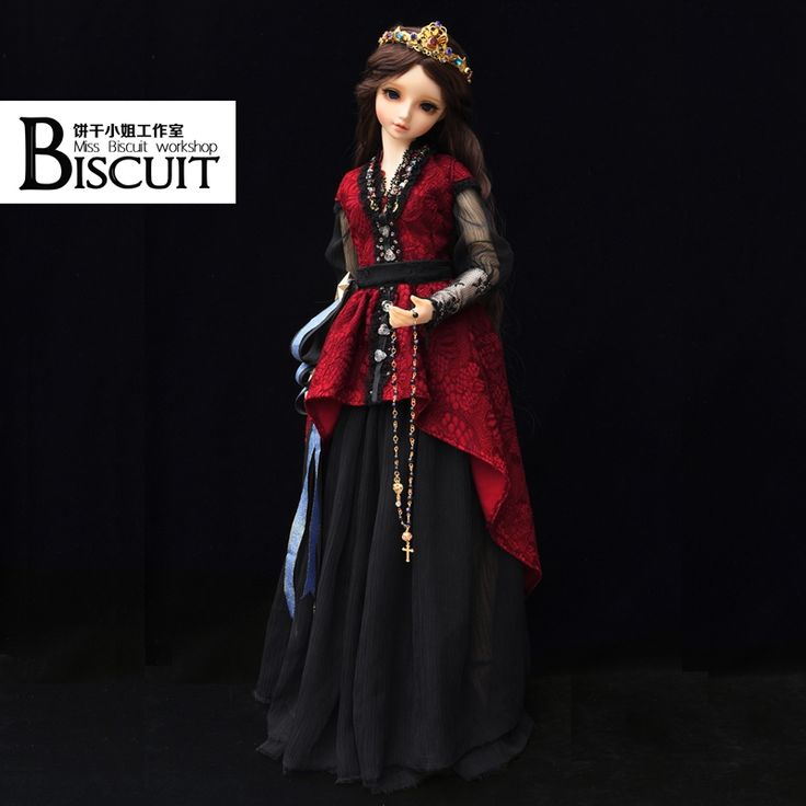 1/3 BJD doll dress clothes The red queen hypothesis