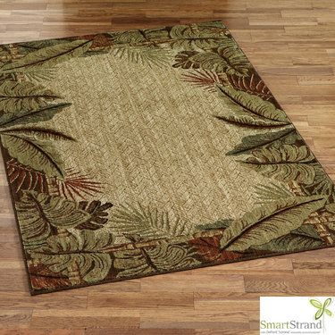 Tropical Area Rugs Home Decor