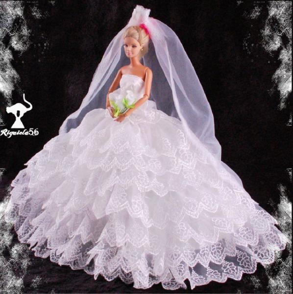 brautkleid barbie